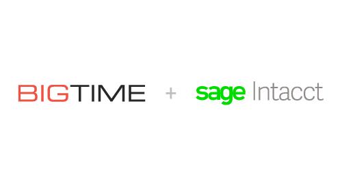 BigTime's Sage Intacct Integration