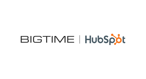 BigTime's Hubspot Integration