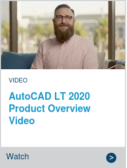 AutoCAD LT 2020 Product Overview Video