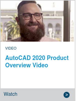 AutoCAD 2020 Product Overview Video