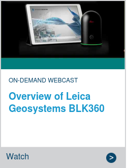 Overview of Leica Geosystems BLK360