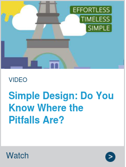 Simple Design: Do You Know Where the Pitfalls Are?