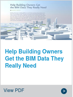 Help Building Owners Get the BIM Data They Really Need