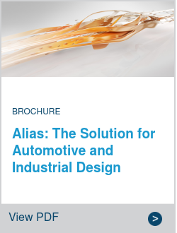 Alias: The Solution for Automotive and Industrial Design