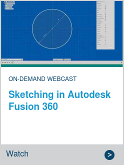 Sketching in Autodesk Fusion 360