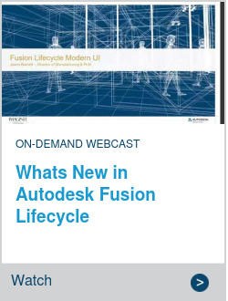 Whats New in Autodesk Fusion Lifecycle