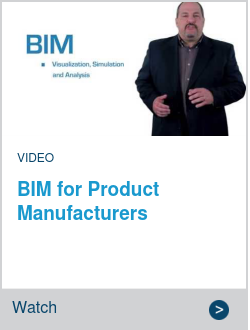 BIM for Product Manufacturers