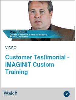 Customer Testimonial - IMAGINiT Custom Training