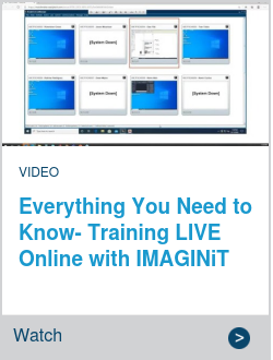Everything You Need to Know- Training LIVE Online with IMAGINiT