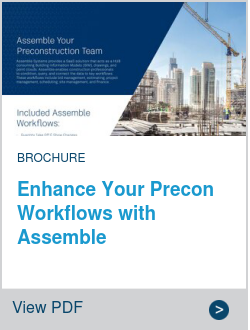 Enhance Your Precon Workflows with Assemble