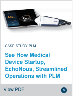 See How Medical Device Startup, EchoNous, Streamlined Operations with PLM