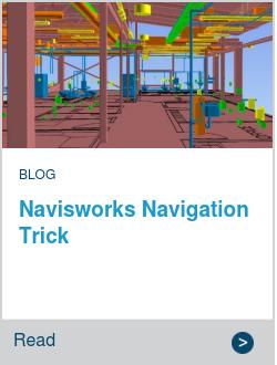 Navisworks Navigation Trick