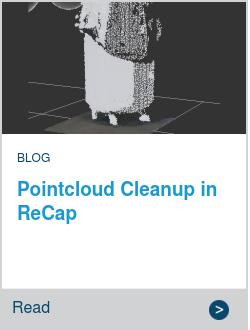 Pointcloud Cleanup in ReCap