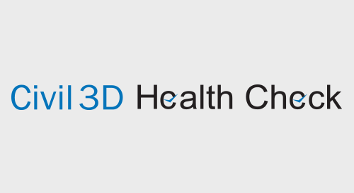 Civil 3D Health Check