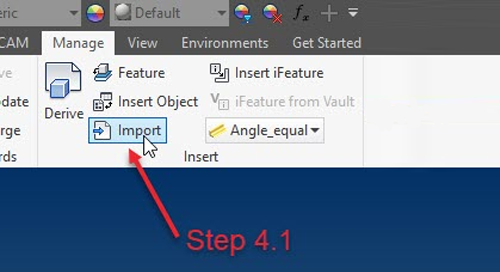 Getting AutoCAD 3D files to Inventor