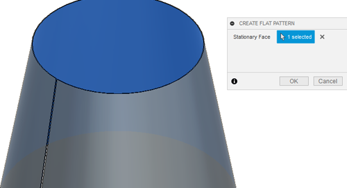 Creating Conical Sheet Metal Components in Autodesk Fusion 360