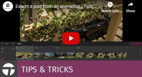 Twinmotion 2020 Tips & Tricks - Export Part of an Animation