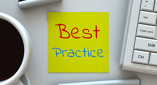 Optimization and Productivity Best Practices