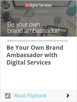 Be Your Own Brand Ambassador with Digital Services