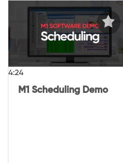 M1 Scheduling Demo