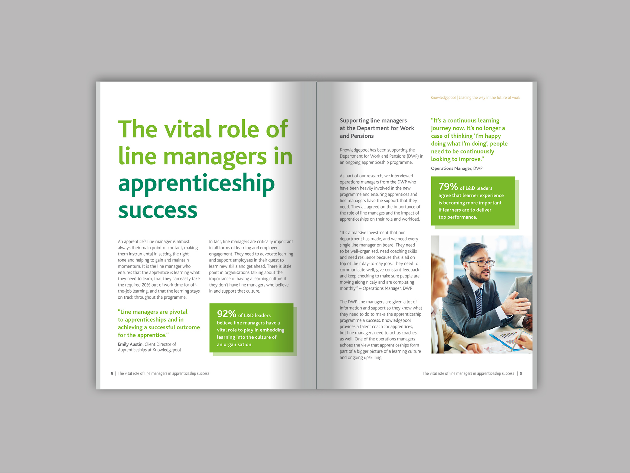 Transforming apprenticeship delivery: the vital role of line managers