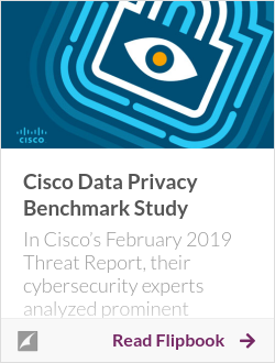 Cisco Data Privacy Benchmark Study