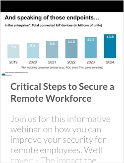 Critical Steps to Secure a Remote Workforce