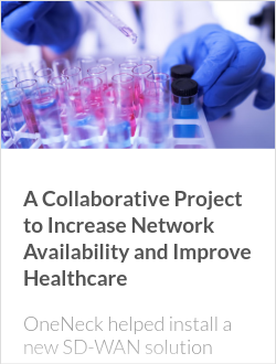 A Collaborative Project to Increase Network Availability and Improve Healthcare