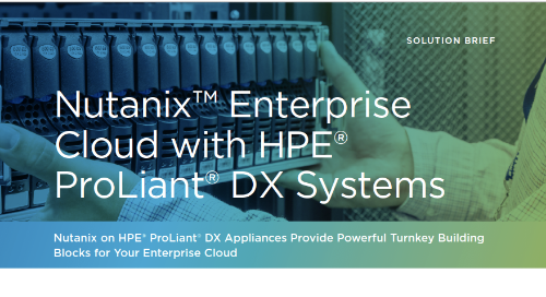Nutanix on Proliant