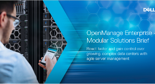 OpenManage Modular Solutions Brief