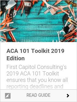 ACA 101 Toolkit 2019 Edition