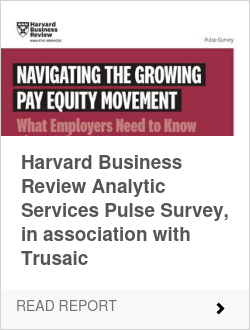 Harvard Business Review Analytic Services Pulse Survey, in association with Trusaic