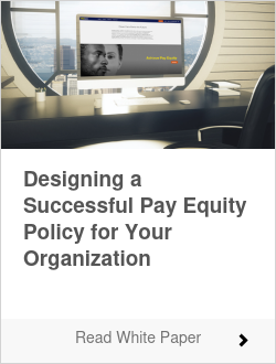 Whitepaper - Designing a successful pay equity policy for your organization