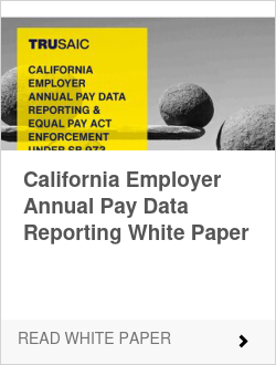 California Employer Annual Pay Data Reporting White Paper
