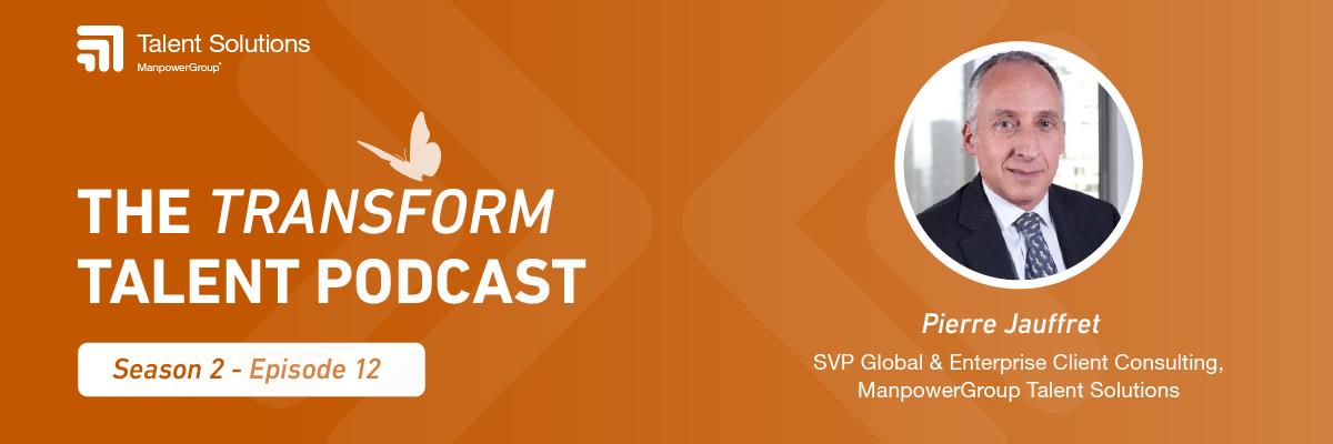 Transform Talent Podcast Banner