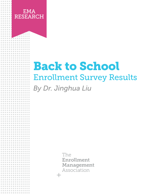Back-to-School Flash Enrollment Survey Report