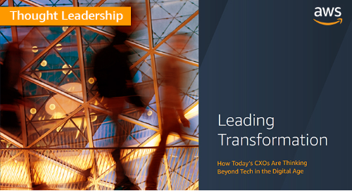 Leading transformation: How CXOs are thinking beyond tech in the digital age