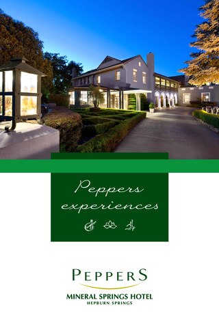 Peppers Mineral Springs Hotel Experience Brochures