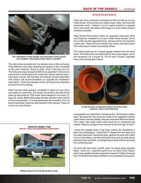 Turbo Diesel Register >> Turbo Diesel Register Issue 76