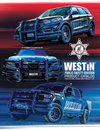 2018 Westin Public Safety Catalog