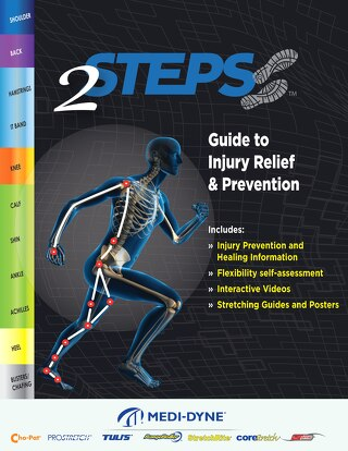 Medi-Dyne 2Steps Guide to Injury Relief Prevention