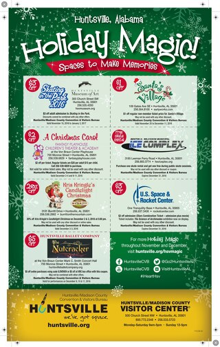 2016 Holiday Coupon Sheet