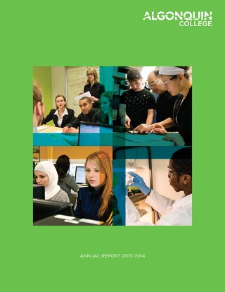 Algonquin College Annual report_2014