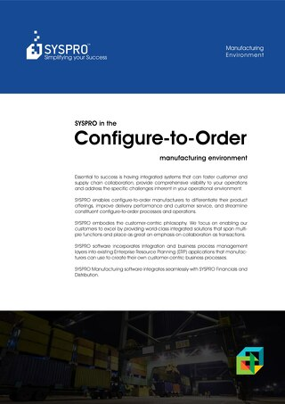 Configure-to-Order