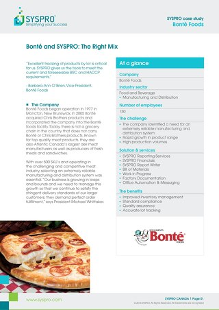 Bonté: Improving Effeciency in Inventory Management