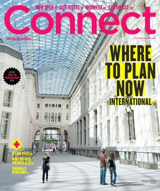 Connect Meetings Magazine Nov/Dec 2014