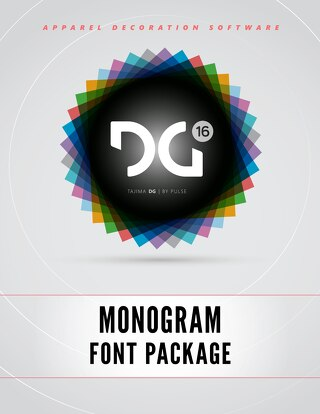 DG16 MONOGRAM FONTS