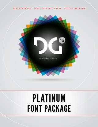 DG16 PLATINUM FONTS