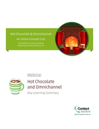 Hot Chocolate and Omnichannel Webinar - KLS
