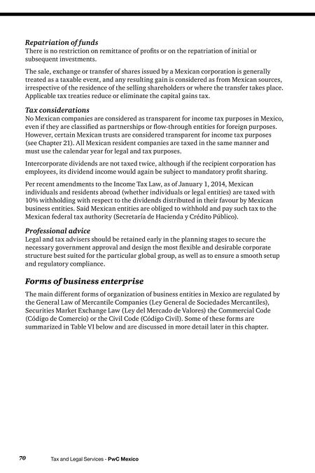 Doing Business Doing Business In Mexico - Corporation legal documents
